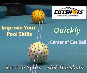 CutShots See the Spots Ad Training Cue Ball Set