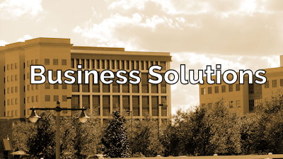 Business Solutions from NavFile With Office Building Background