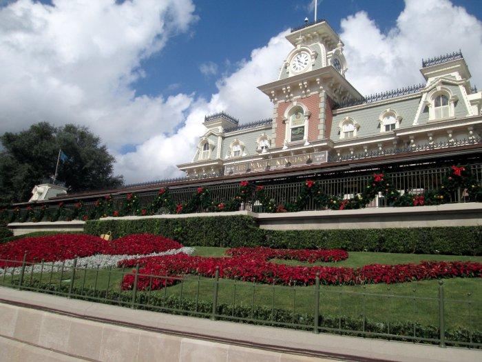 A Photo of the Magic Kingdom Front Entrance in Bay Lake Florida United States of America
