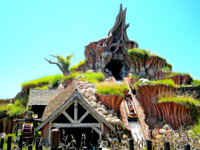 Splash Mountain Disneyland California 30 Year Anniversary Page Photo