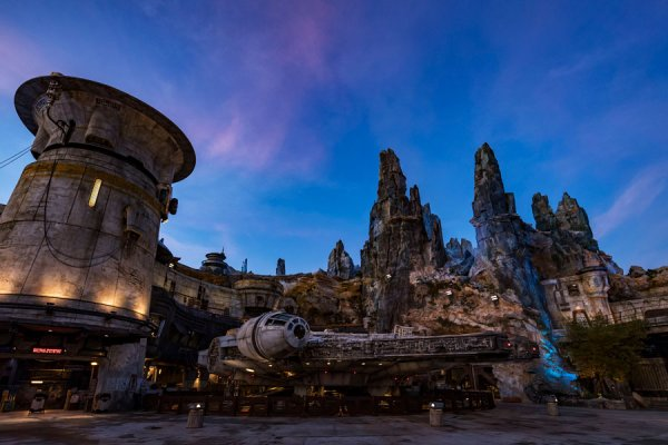 Star Wars Galaxy's Edge at Walt Disney World Resort - Hollywood Studios Before the Launch