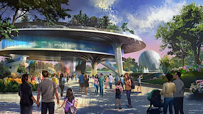 World Celebration Pavilion in Epcot 2019 Rendering