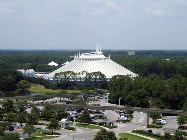 Space Mountain Epcot Center Page Photo