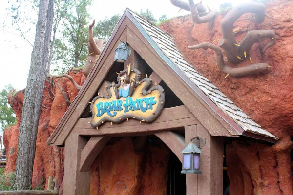 The Splash Mountain Exit Gift Shop The Briar Patch at Walt Disney World