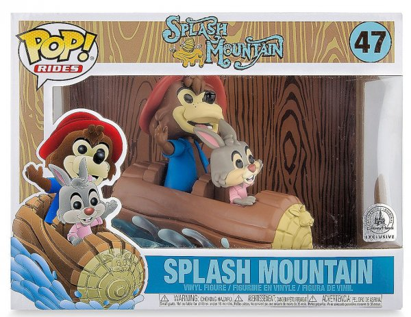 A picture of the Splash Mountain Toy, a Vinyl Figure