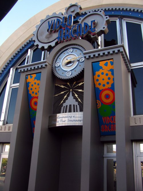 Tomorrowland Arcade Magic Kingdom Exterior