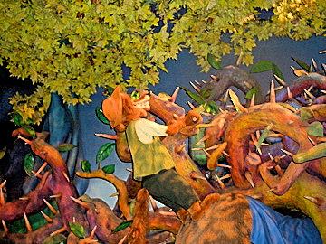Brer Fox Animatronic on Walt Disney World's Splash Mountain