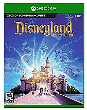 A photo of the Disneyland Adventures Xbox One Game Box Case Cover